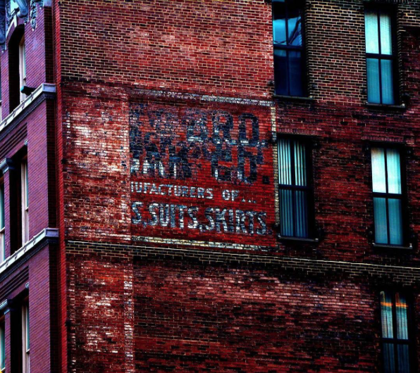 Downtown STL Ghost Sign